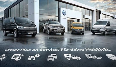 Firmenkunden VW Nutzfahrzeuge • Autohaus Westkamp