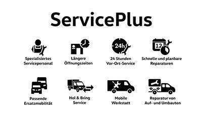 ServicePlus VW Nutzfahrzeuge • Autohaus Westkamp