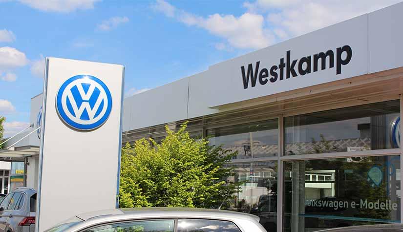 VW Neuwagen • Autohaus Westkamp